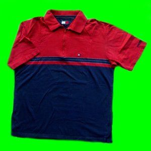 vintage Tommy Hilfiger color block polo